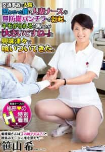 笹山希 人妻ナースの無防備パンチラ