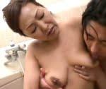 宮田かおる 五十路熟女の中出し母子相姦