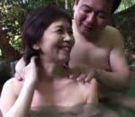 熟年夫婦の営み 温泉旅行