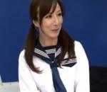 澤村レイコ 熟女のセーラー服
