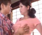 愛矢峰子 四十路熟女の友人の母