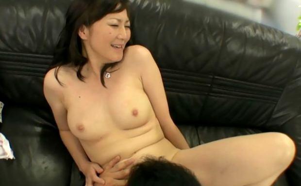 押尾伸子 四十路熟女のAV]面接