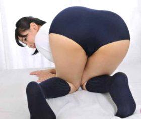ブルマフェチ男と体操着を着せられた巨尻四十路熟女のマニアックSEX