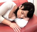 白山葉子 泥酔して眠る五十路母