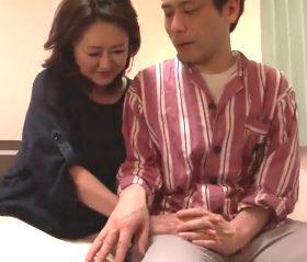 勃起不全の夫が五十路女房との中出しSEXに成功する熟年夫婦の記録映像