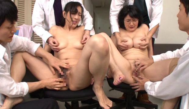 服部圭子 上島美都子 輪姦されたレズビアン熟女教師