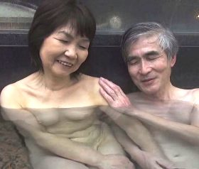 初体験の目隠し拘束プレイに燃え上がる還暦夫婦のフルムーン温泉旅行