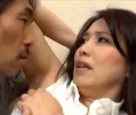 ワキフェチだった義父の目の前で脇の下を晒してしまった四十路嫁 桐島綾子